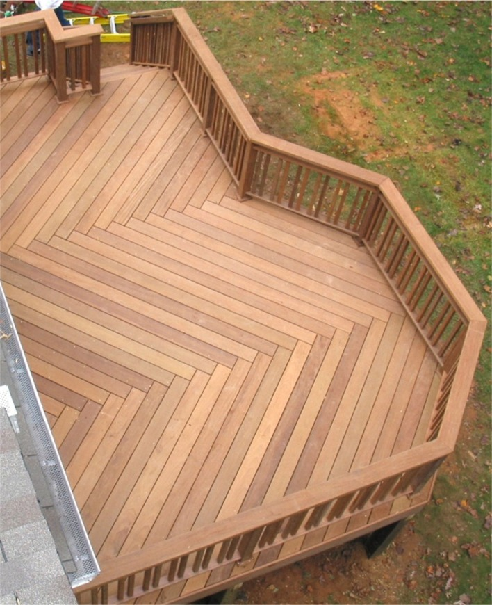 Angled deck boards remodeling ideas pinterest for Danielle terrazas williams