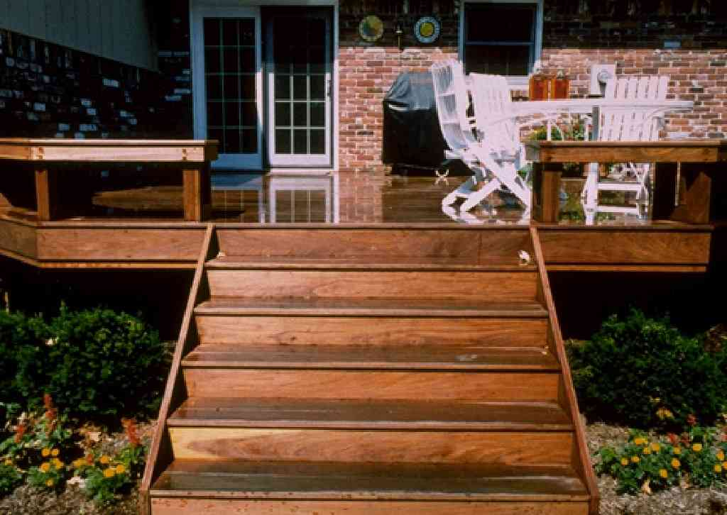 Ipe Hardwood Decks, Decking