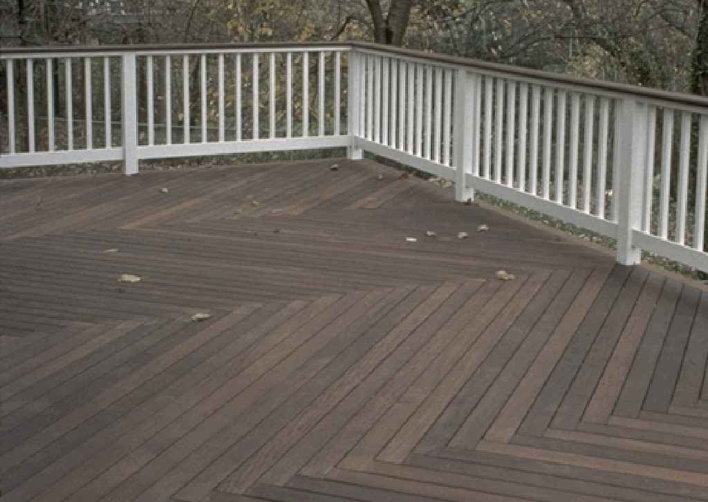 Composite deck cost composite deck flooring for Best timber for decking